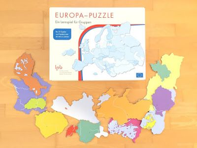 Europa-Puzzle für den Sachunterricht in der Grundschule