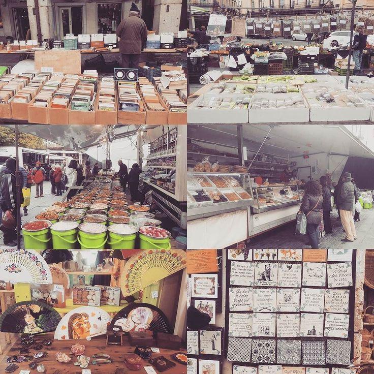 el mercado local en Segovia España.  #buenambiente # mercado #Segovia