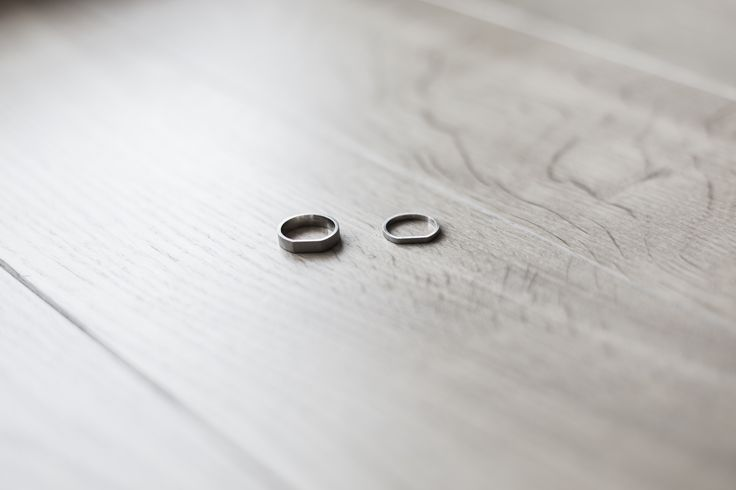 minimalist wedding rings UNIKAVO