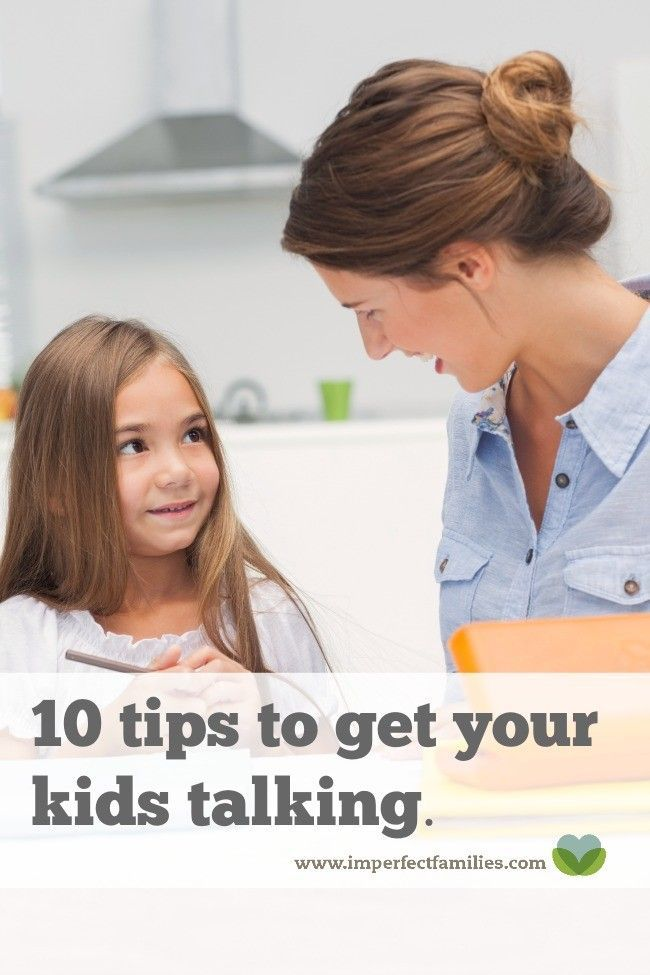 If you're struggling to get your kids to open up, check out these 10 tips to get your kids talking!