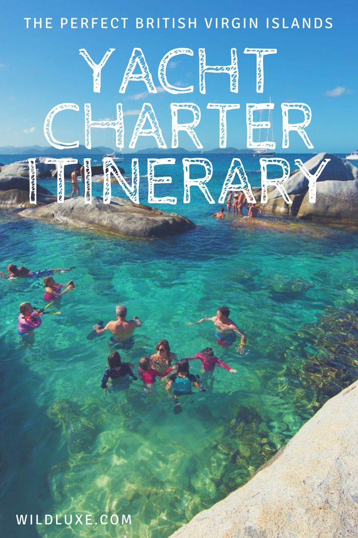 7 Day Itinerary for your next British Virgin Islands Yacht Charter Vacation!