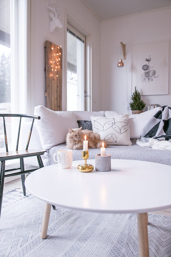 Enamórate de cada rincón de este salón comedor de estilo nórdico!