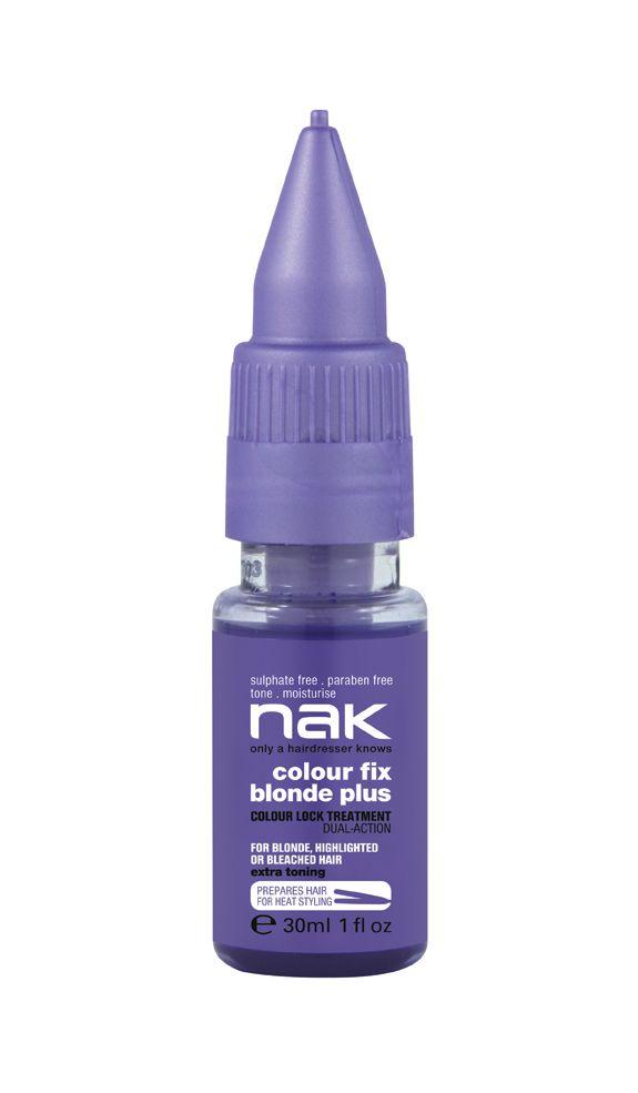 nak colour blonde plus / designed for colour treated, damaged or dry hair #sulphatefree #parabenfree #tone #moisturise