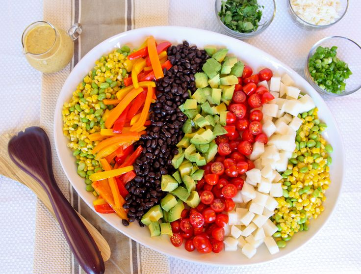 MEXICAN CHOPPED SALAD WITH SPICED CITRUS VINAIGRETTE
