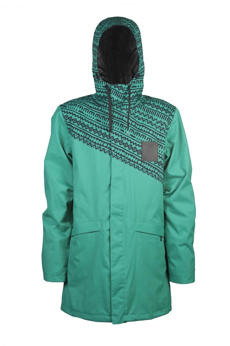 WestbeachTall Jacket|Emerald Eyes | Mens Snowboarding Jackets la kiero @Andrea / FICTILIS Mcfly