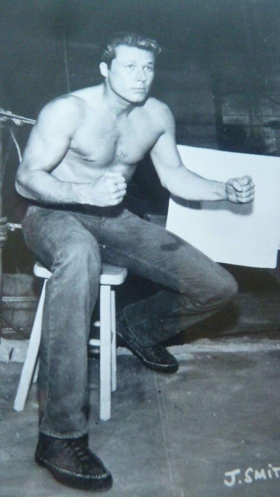 Vintage 1950's publicity photograph actor john smith