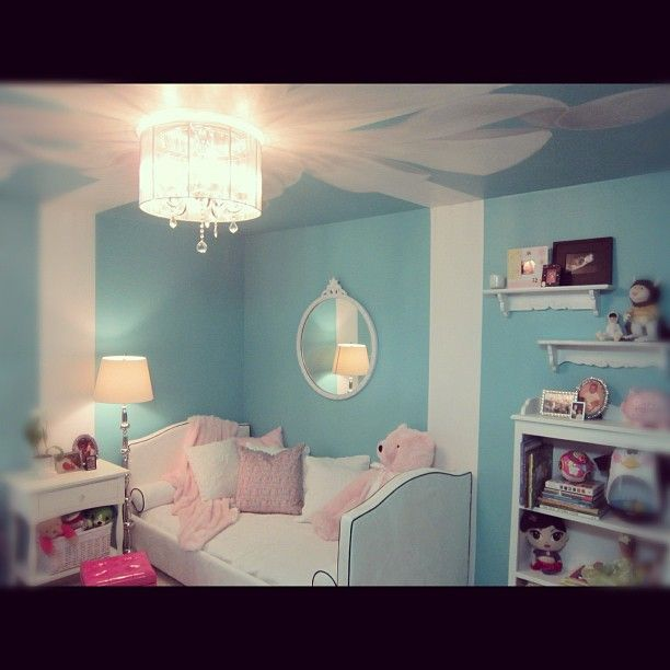 Tiffany In A Box Inspired Kids Room.
