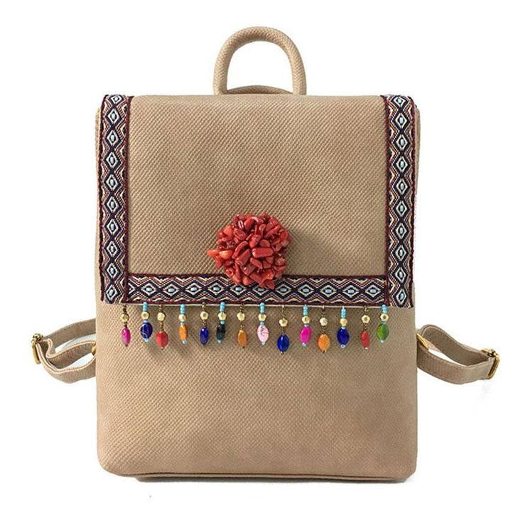 Bohemian Backpack Alamos 5 colors – Floral Cat