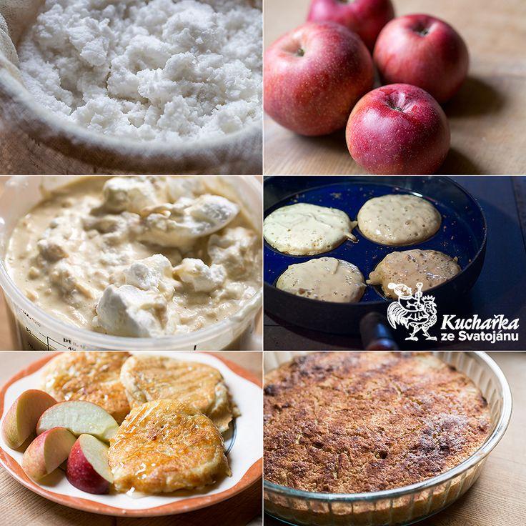 Kuchařka ze Svatojánu: JABLEČNÉ LÍVANCE