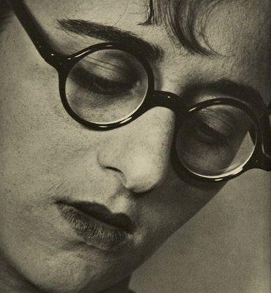 Ellen Auerbach, Ringl (Grete Stern) with Glasses, 1929