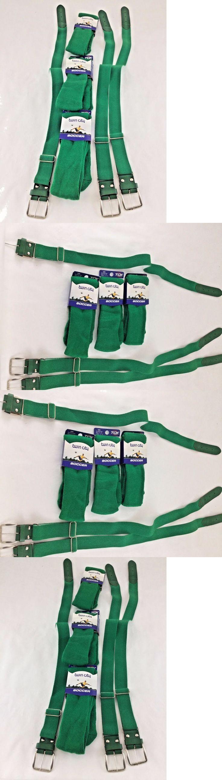 Baseball Socks 181338: Twin City Tube Socks And Elastic Belt 3 Pack Green -> BUY IT NOW ONLY: $32.99 on eBay!