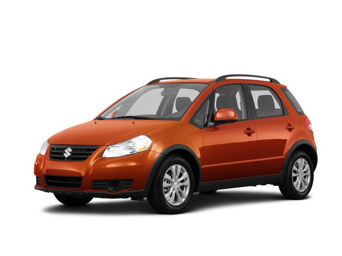 2013 Suzuki SX4 Base 4dr All-wheel Drive Crossover Information