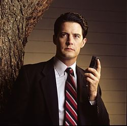 It's odd and cool and wrong and spooky and silly: Twin Peaks.
