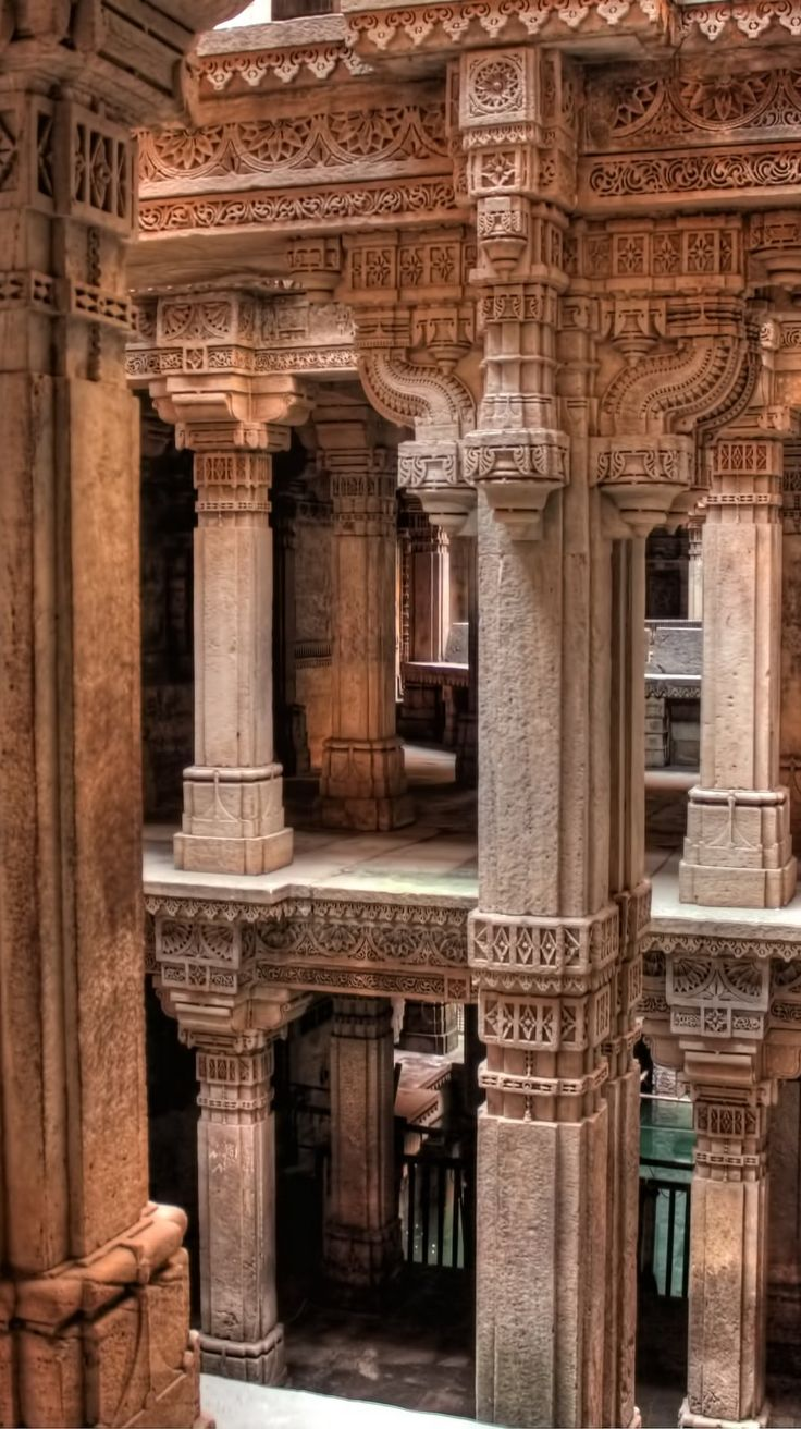 Stepwells built between the 5th and 19th centuries are common in India; but the well at Adalaj is the most popular...and with the most fascinating legend. Click pin through to post to read more.