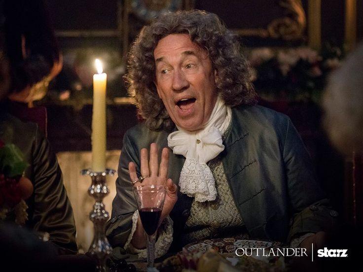 Here is a NEW still of Simon Callow as The Duke of Sandringham in Outlander Season 2 Source : Outlander-Starz