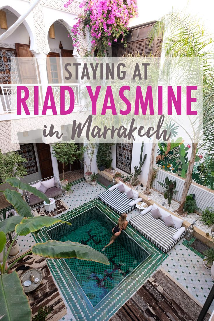Riad Yasmine Hotel in Marrakech