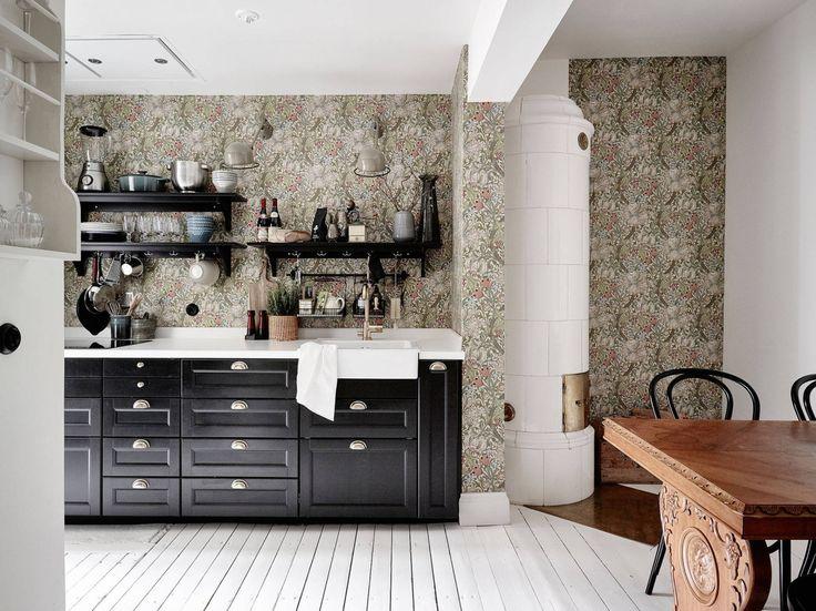 Tapeten küchengestaltung ~ Bildergebnis für moderne tapeten designideen