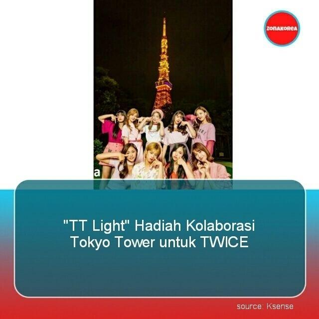 "Follow @koreanversus ""TT Light"" Hadiah Kolaborasi Tokyo Tower untuk TWICE  Pada 28 Juni TWICE resmi debut di Jepang dengan merilis album ""#TWICE"". Ini merupakan pertama kalinya Tokyo Tower menampilkan huruf di Tokyo Tower Observation Station melalui kolaborasi dengan artis.  Menurut JYP Entertainment ""Ada kesamaan antara lagu 'TT' dimana lagu yg membuat TWICE dikenal di Jepang dan inisial dari Tokyo Tower yg membuat kolaborasi ini terjadi."" Sambil menghitung mundur TWICE menyaksikan ""TT""…"
