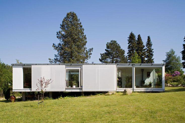 Dorte Mandrup Arkitekter, Torben Eskerod · Summer house in Jørlunde · Divisare