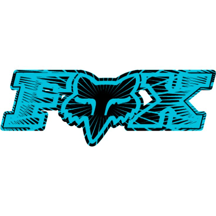 fox racing | Fox Racing Inner Space Single Stickers Graphic Kit Accessories