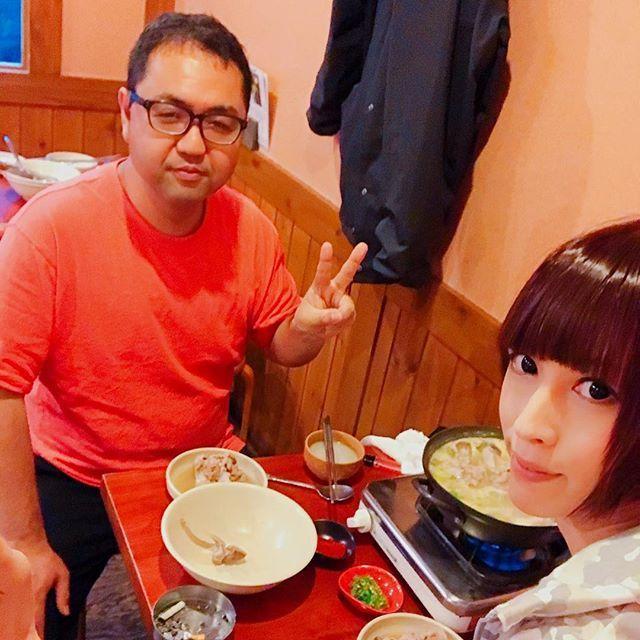 ディレクターの幸田様と韓国鍋なう - 宋家ガムジャタン https://g.co/kgs/aydDhS