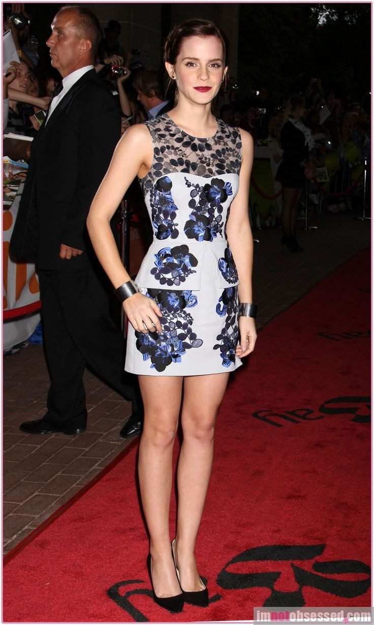 Style Hits: Emma Watson in Erdem | Visual Therapy