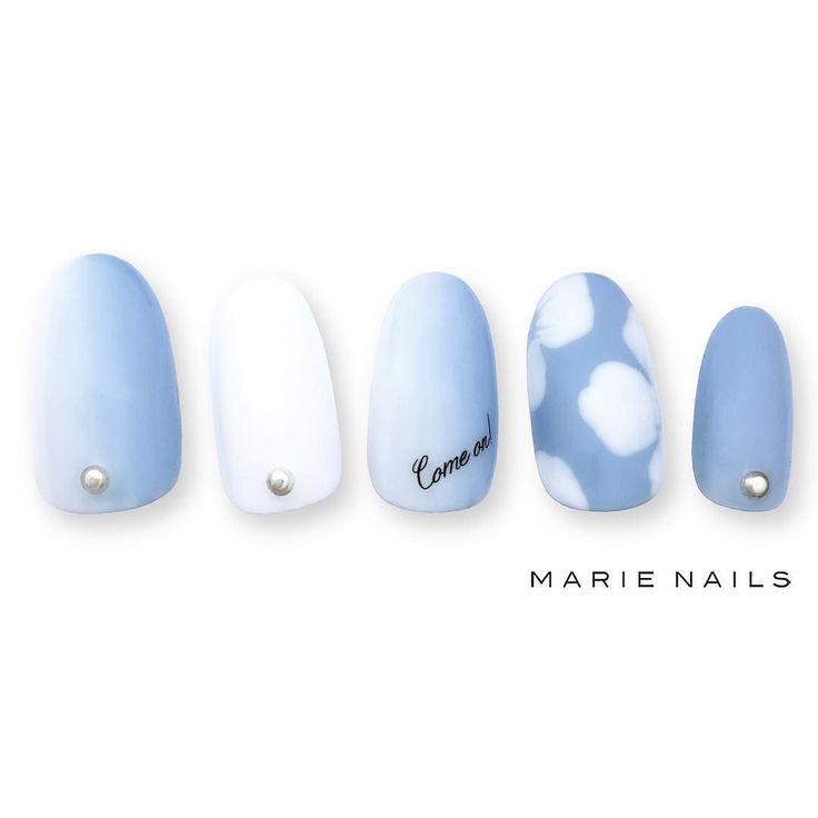 #マリーネイルズ #marienails #ネイルデザイン #かわいい #ネイル #kawaii #kyoto #ジェルネイル#trend #nail #toocute #pretty #nails #ファッション #naildesign #awsome #beautiful #nailart #tokyo #fashion #ootd #nailist #ネイリスト #ショートネイル #gelnails #instanails #marienails_hawaii #cool #blue #sky