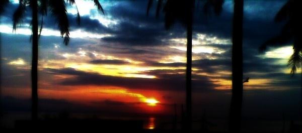 The beautiful Sunrise in Indonesia