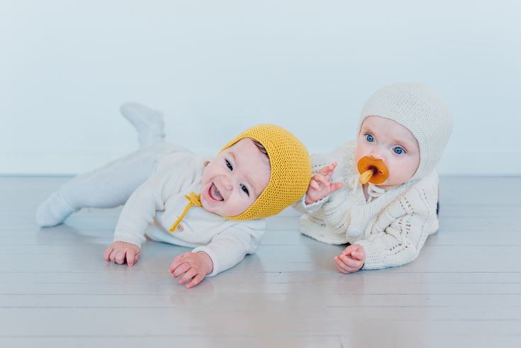 Merino Wool, hand-knit, timeless bonnets for baby's, toddlers and children ages 0-4 by muli