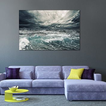 Tropical Nature Seascape Contemp Bedroom Wall Art Office Home Kids Room Living