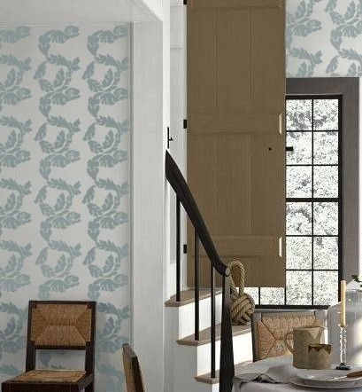 Stencil for Walls  Damask ACANTHUS  Wall by OliveLeafStencils, $39.95