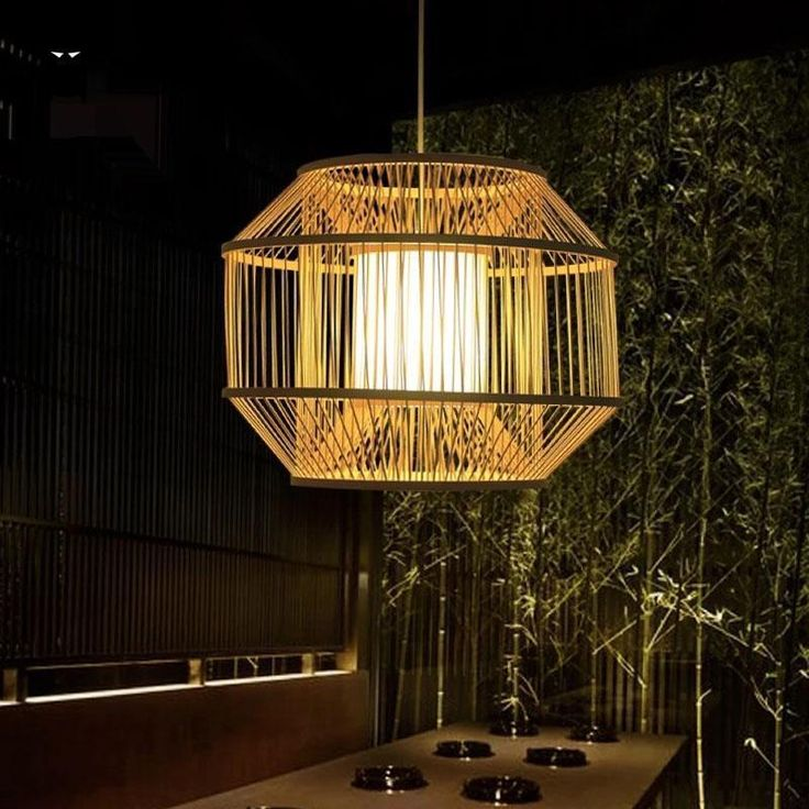 42 best rattan shade images on pinterest pendant lamps bamboo and