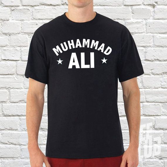 Check out this item in my Etsy shop https://www.etsy.com/uk/listing/467880203/muhammad-ali-tshirt-ali-boxing-tee-ali