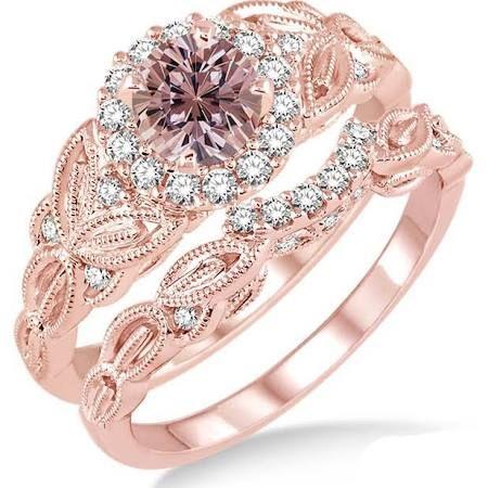 levian chocolate diamonds wedding set - Google Search