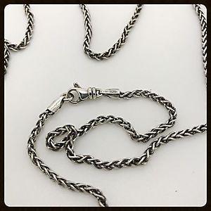 Handmade Sterling Silver Wheat Chain 2.7mm  | eBay