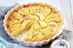 Manchmal sind die schlichtesten Rezepte auch einfach die leckersten, wie bei dieser saftigen Apfel-Tarte.