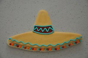 sombrero cookie