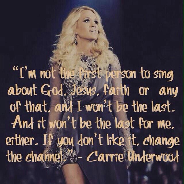 Carrie Underwood quote
