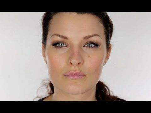 How to make round eyes appear elongated and feline (or, the Angelina Jolie look). This is perfect for me, but if you have naturally narrower eyes, there's a link in the description box for a tutorial on how to make long, narrow eyes look rounder (like Megan Fox does).
