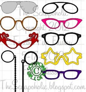 glasses cut file for mtc -  The Scrapoholic