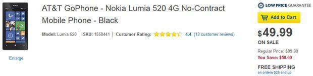 Best Buy trims price of Nokia Lumia 520 in half - http://wideinfo.org/buy-trims-price-nokia-lumia-520/