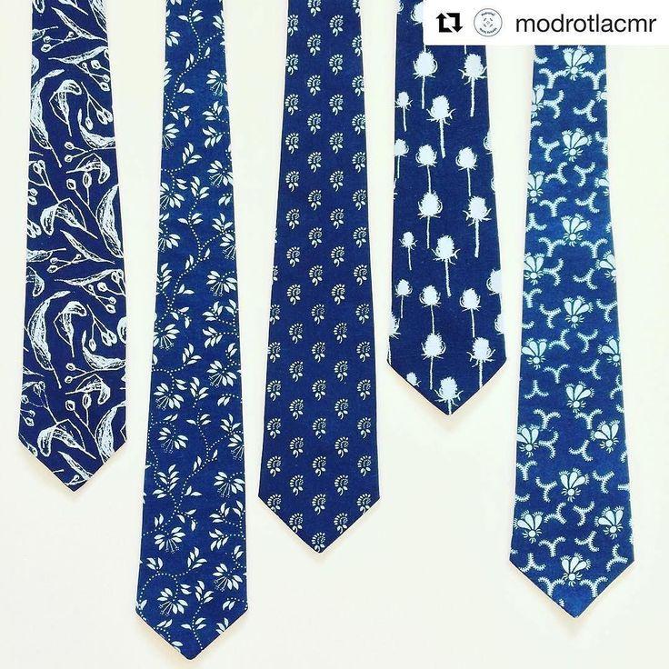 Nie len motyliky ale aj kravaty budu coskoro v predaji.  #praveslovenske od @modrotlacmr ...... #slovensko #slovakia #blueprint #fashion #style #madeinslovakia #vyrobenenaslovensku #slovenskyvyrobok #slovenskydizajn