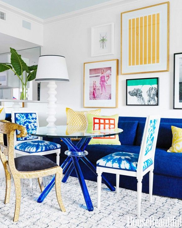first look the top color trends of 2015 - Blue Apartment 2015