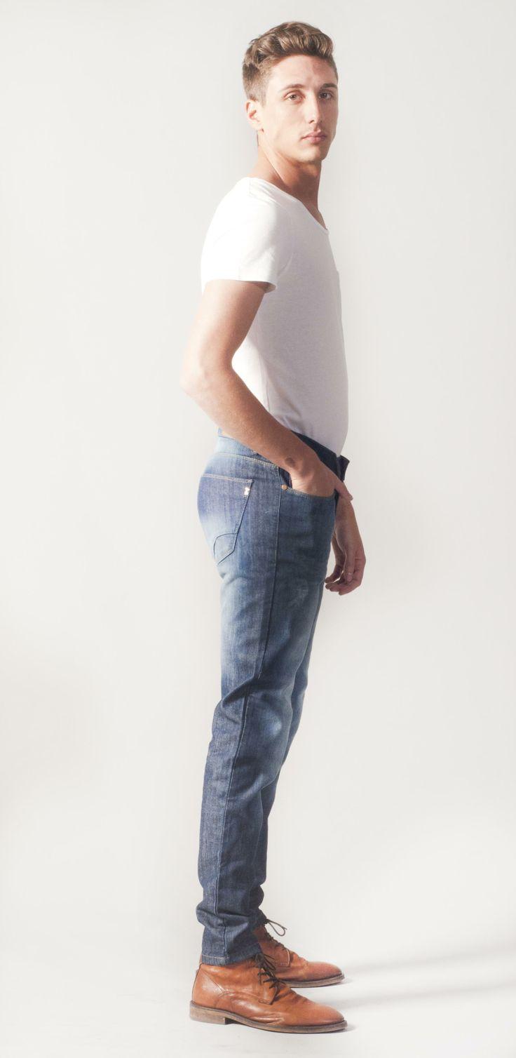Skinny Jean Denim Straight Men Fashion Moda Menswear Garçon Garcia Shop Elegant Mocasines Chupin Hombre