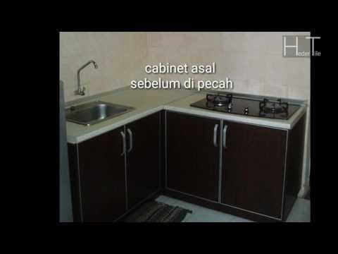 Buat Table Top Panjang Bentuk L Shape Meja Dapur Countertop Di Kajang Selangor