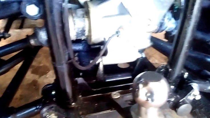 квадроциклы Первая поломка РМ500-2