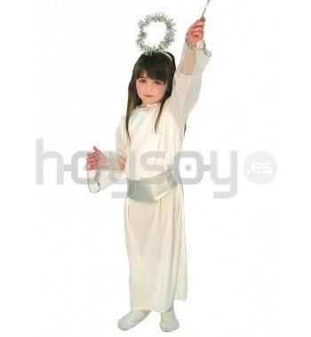 Elegante #disfraz de #angelito para celebrar #navidad o usar en fiestas escolares #disfraces