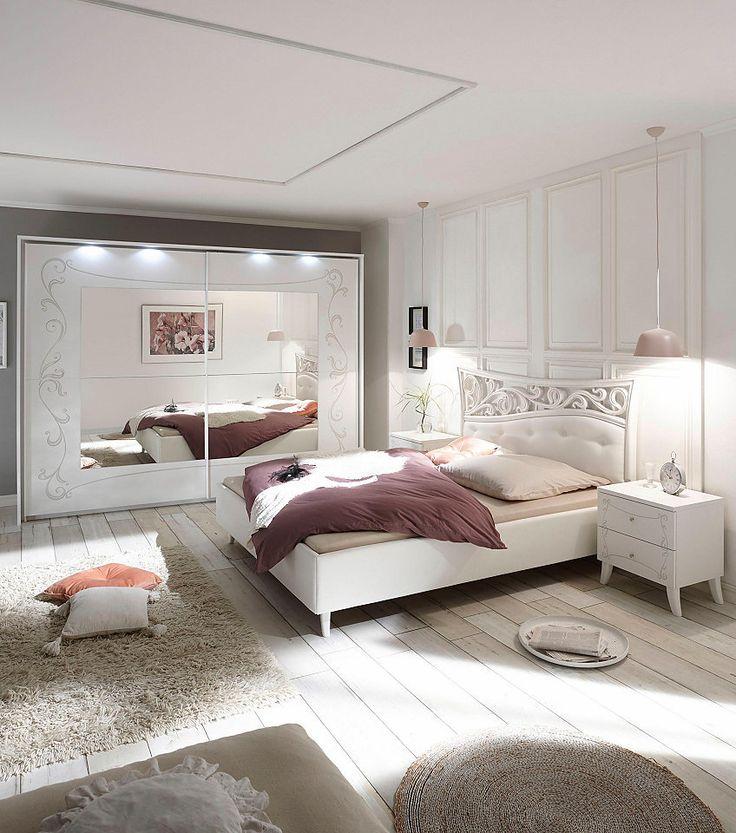 14 best boxspring romantisch images on Pinterest Bedroom ideas - günstige komplett schlafzimmer