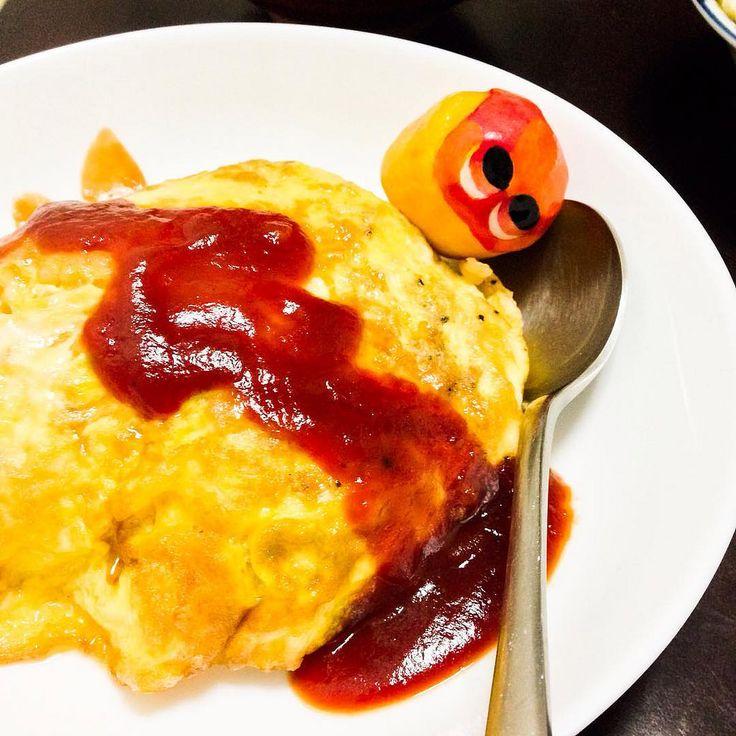 Omuraisu  love ! #mizumushikun #omuraisu #egg #japanesefood #foodie #food #yoshoku #dish #hungry #japan #yummy #nomnom