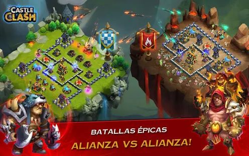 Castle Clash: Era de Bestias: miniatura de captura de pantalla